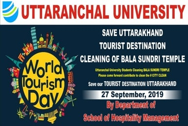 "School of Hospitality Management observes ""World Tourism Day"""
