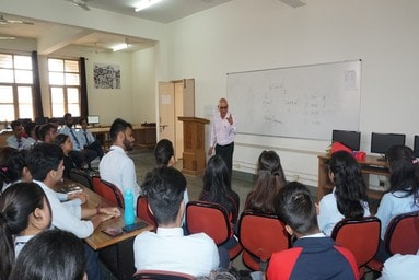 "SMCS Media Club organizes a Guest Lecture on ""Radio as a Medium of Mass Communication"""