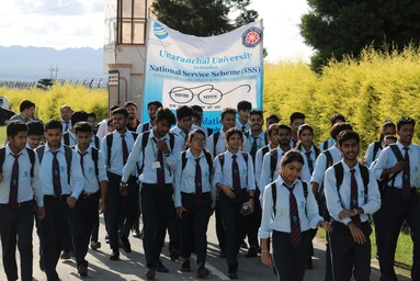 "NSS Members of Uttaranchal Institute of Technology conducts ""Clean India"" Campaign"
