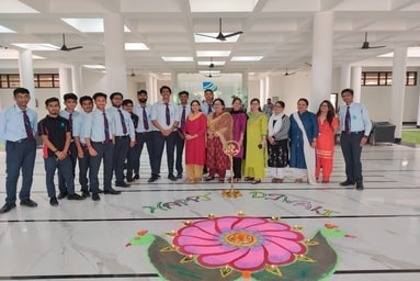 Uttaranchal University celebrates Deepawali