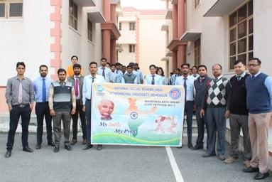 """Uttaranchal University observes """"Rashtriya Ekta Diwas - 2019"""""""