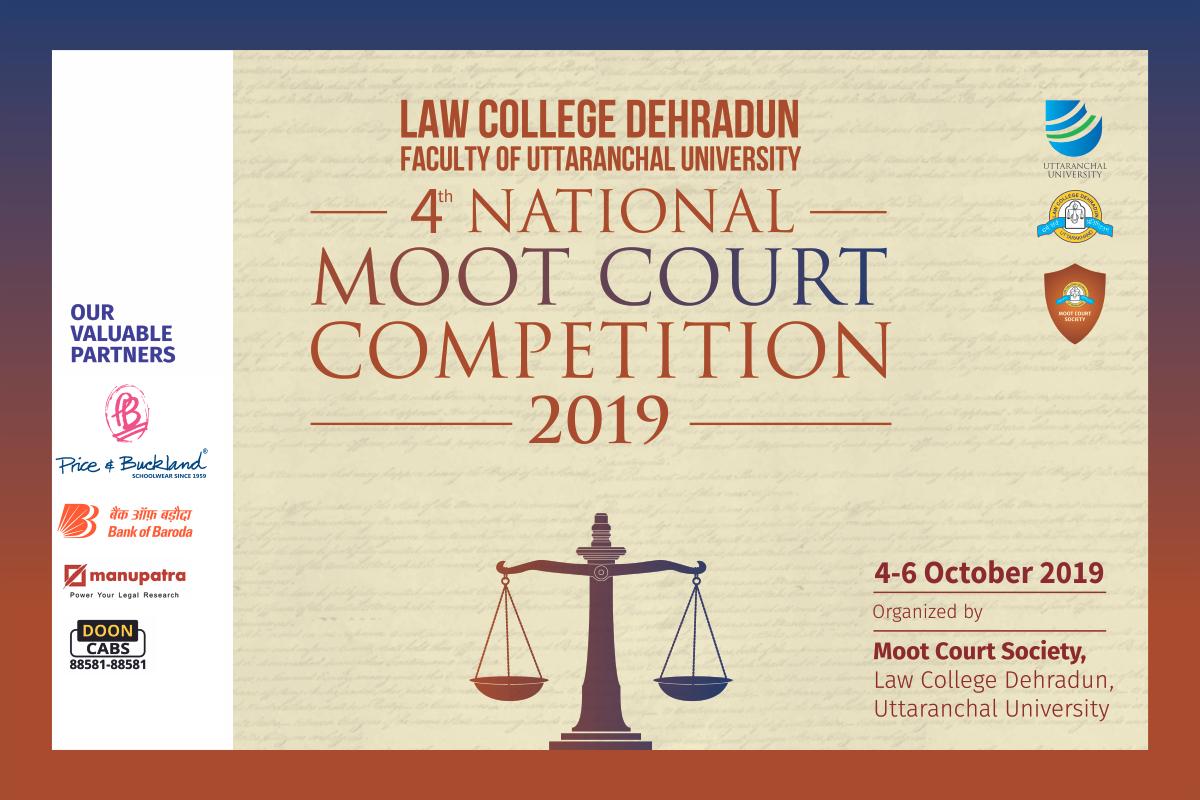 Moot Court Society, Law College Dehradun