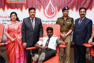 Mega Blood Donation on the occasion of Constitution Day (National Law Day) on 26th November, 2019