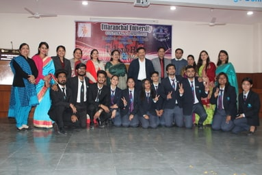 """Cultural Committee of Uttaranchal University organizes the Finale of """"Talent Hunt - 2019"""""""