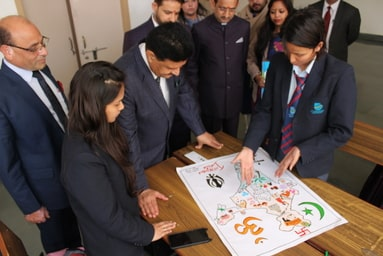 Poster Making Competition on the theme 'Incredible India'