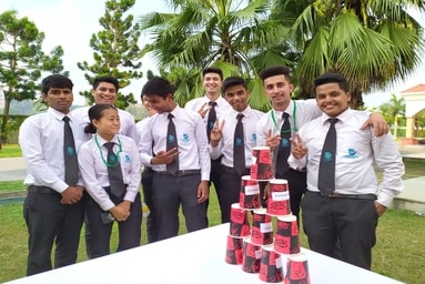 School of Hospitality Management conducts 'Team Building Management Games'