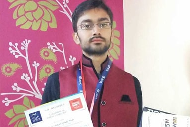 """Shekhar Malik bags Third Position in """"The Valley of Words Debate Competition 2019"""""""