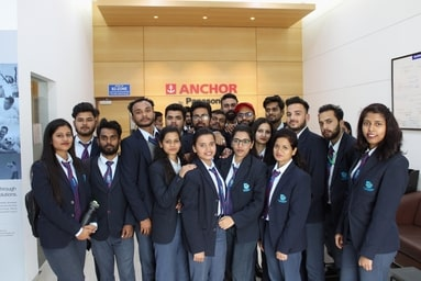 Uttaranchal Institute of Management organizes an Industrial Visit to Anchor Panasonic, Haridwar