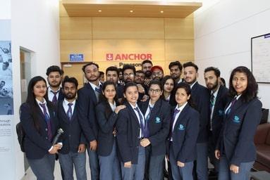 Uttaranchal Institute of Management organizes an Industrial Visit to Anchor Panasonic, Haridwar