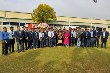 Department of Mechanical Engineering organizes an Industrial Tour to Kirby Building Systems, Haridwar