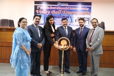 Uttaranchal University is organizing its '1st Sushila Devi Memorial Interuniversity Volley Ball Tournament'