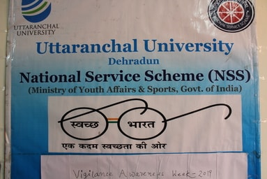 Uttaranchal University organizes a program on 'Vigilance Awareness against Corruption'
