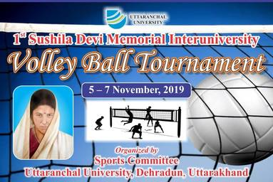 Volley Ball Tournament 2019