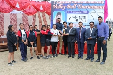 Sushila Devi Memorial Volleyball Tournament at Uttaranchal University