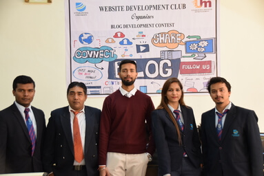 Website Development Club: Blog Development Contest