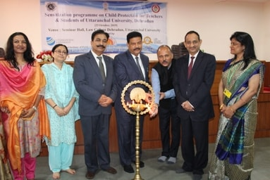 "Law College Dehradun organizes a Workshop on ""Sensitization Program on Child Protection"""