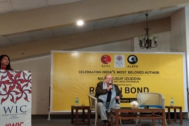School of Liberal Arts participates in Live Interactive Session with India's Most Beloved Author Ruskin Bond