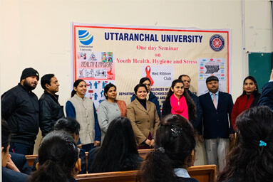 School of Applied and Life Sciences organizes a Seminar on 'Youth Health, Hygiene and Stress Management'