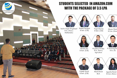 Students Selected In Amazon.com