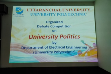University Polytechnic organizes Debate Competition