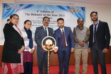 Law College Dehradun organizes 'Debater of the Year – 2020'