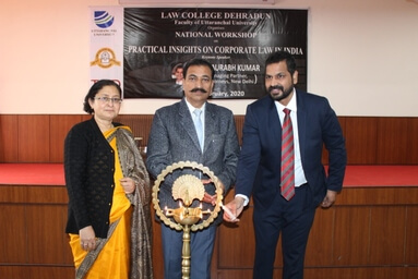 Law College Dehradun organizes a National Workshop on 'Corporate Law'