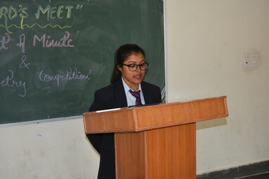 """School of Agriculture organizes """"Singing Competition"""", """"Words Meet"""" and """"Dance Competition"""""""