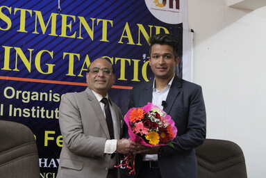Uttaranchal Institute of Management organizes a Guest Lecture on 'Investments and Funding Tactics'