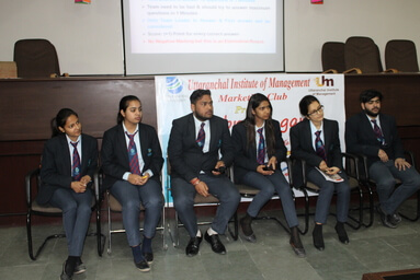 "Marketing Club of Uttaranchal Institute of Management organizes ""The Brand Game"""