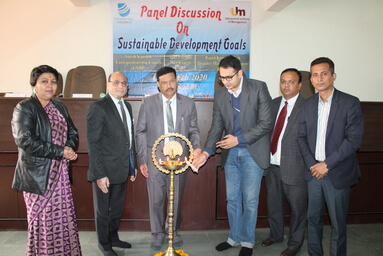 Uttaranchal Institute of Management organizes a Panel Discussion on 'Sustainable Development Goals'