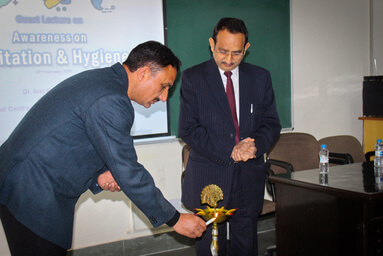 "Uttaranchal Institute of Technology organizes a Guest Lecture on ""Role of Sanitation in Behaviour Change for Health and Hygiene"""
