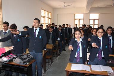 "Uttaranchal University is observing ""Swachhata Pakhwada 2020"""
