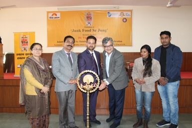 Law College Dehradun organizes a Workshop on 'Junk Food se Jung' in collaboration with Dainik Jagran