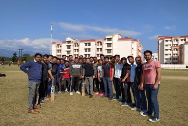 Civil Engineering Department organizes a Cricket Match under FIT India Campaign