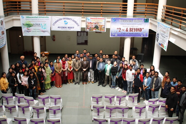School of Applied and Life Sciences organizes an Alumni Meet
