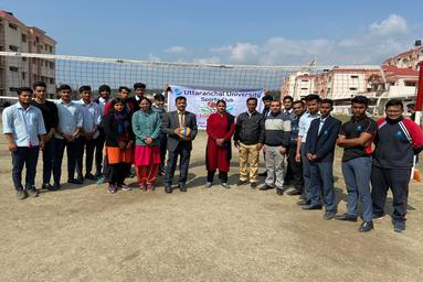 School of Applied and Life Sciences organizes a two-day Volley Ball Tournament
