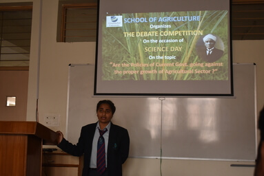 School of Agriculture celebrates Science Day