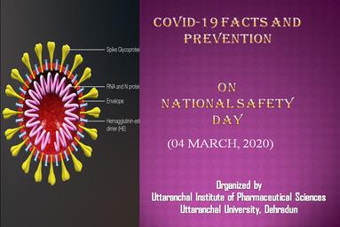 Uttaranchal Institute of Pharmaceutical Sciences celebrates 'National Safety Day'