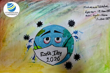 "School of Agriculture organizes Poster Making to celebrate ""Earth Day"""