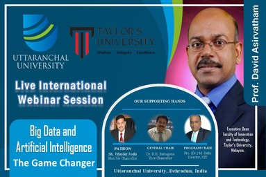 """Webinar Session on """"Big Data and Artificial Intelligence THE GAME CHANGER"""""""