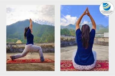 """University Polytechnic, Uttaranchal University, celebrates """"International Yoga Day"""""""