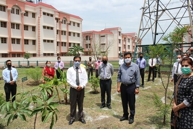"Uttaranchal University organizes 'Tree Plantation Drive' on the occasion of ""World Environment Day"""