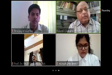 Law College Dehradun organizes a National Webinar on 'Challenges before Police Administration during Covid-19: An Overview and Solution'