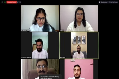 "Law College Dehradun organized a National Webinar on ""Private Equity Investment in India"""
