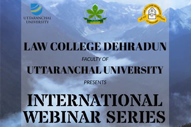 """International Webinar series on Environment""...Coming soon"