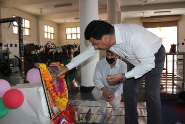 Department of Mechanical Engineering of UIT Celebrates 'Vishwakarma Puja'