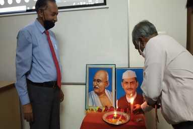 Gandhi Jayanti & Shastri Jayanti Celebration at School of Agriculture