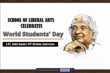 School of Liberal Arts celebrates 'World Students' Day'