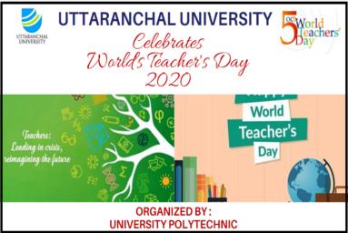 University Polytechnic Celebrates World Teachers' Day