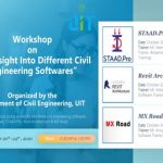 "Workshop on ""An Insight Into Different Civil Engineering softwares"""